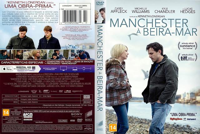 Capa DVD Manchester à Beira Mar [Custom]