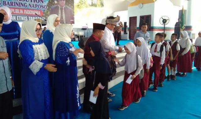 Menantu Presiden RI Joko Widodo, Muhammad Bobby Afif Nasution mengunjungi Kabupaten Labuhanbatu Selatan