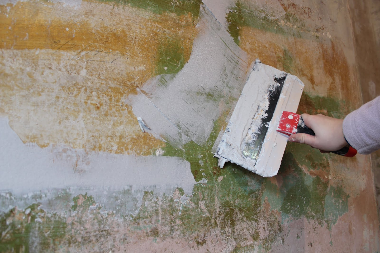 how to use skim plaster