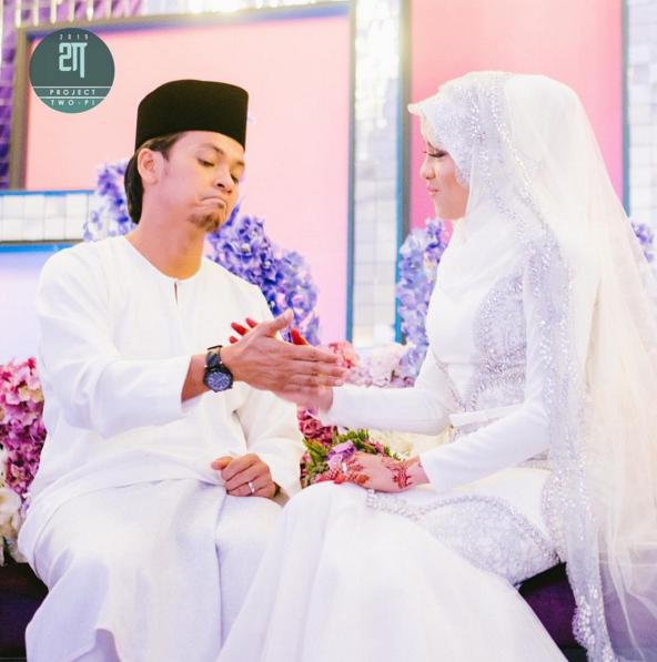 Majlis Akad Nikah Jihan Muse Dan Ungku Hariz Yang Menonjolkan Watak Sebenar Pasangan Pengantin