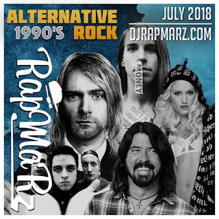 1990s Alternative Rock - July 2018 RapMaRz Radio podcast