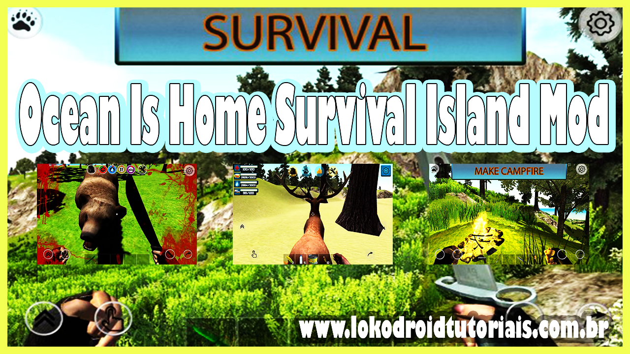 Ocean Is Home Survival Island Mod