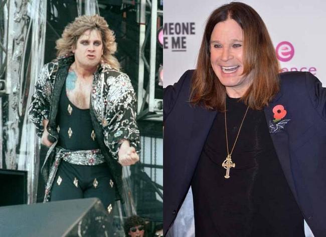 O antes e o depois dos mais famosos roqueiros da década de 70 e 80