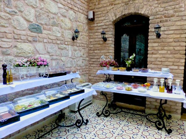 Desayuno del Hotel Celine de Estambul