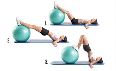 Những bài tập giảm mỡ bắp chân với bóng sẽ giúp cơ chân bạn trở nên thon gọn và săn chắc