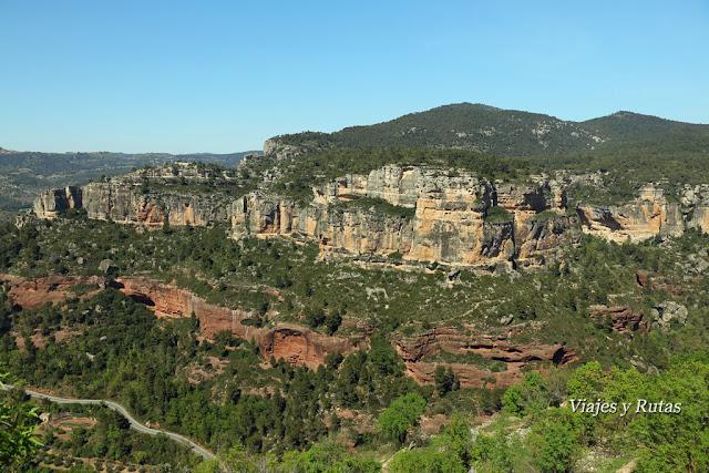 Montañas de Siurana, Tarragona