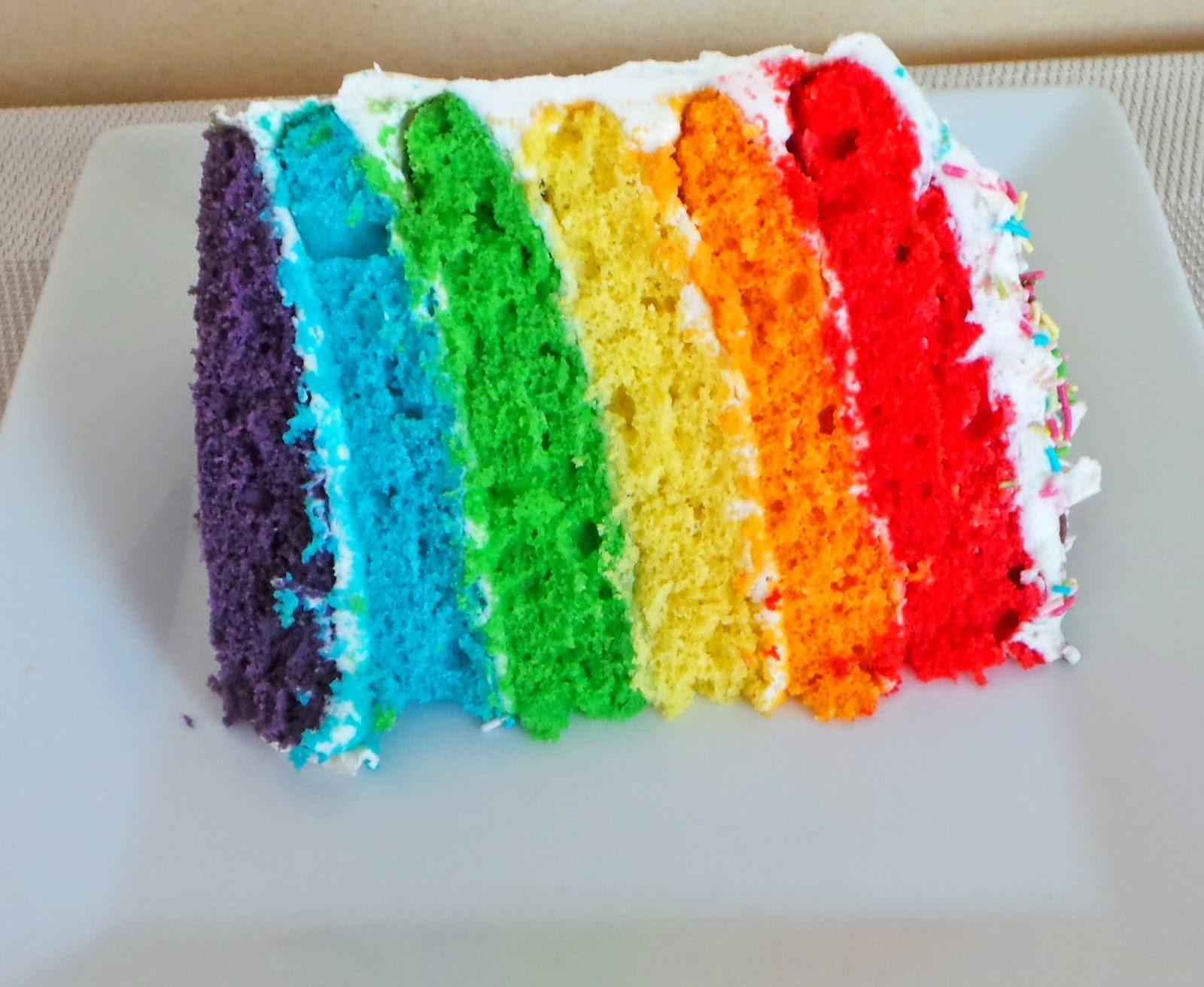 my culinary curriculum rainbow cake facile g teau arc en. Black Bedroom Furniture Sets. Home Design Ideas