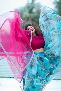 Serial Actress Neelima rani latest beautiful saree photoshoot