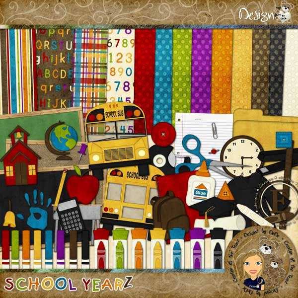 School YearZ by DeDe Smith (DesignZ by DeDe)