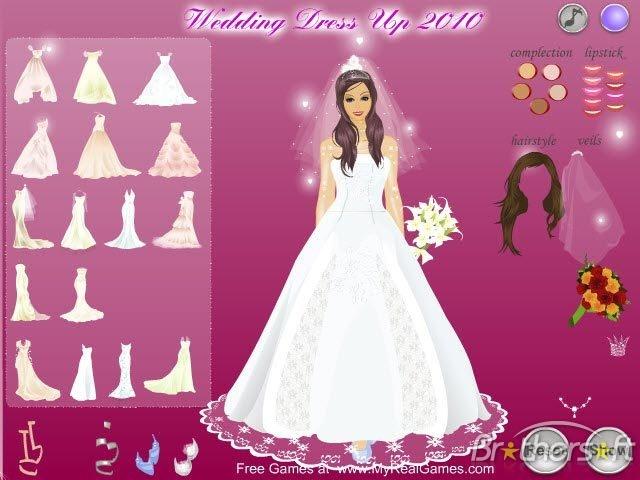 Wedding Dress Up 2010 | Free Games Download/ World Best ...