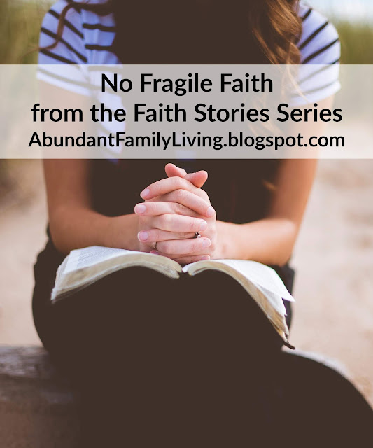 No Fragile Faith