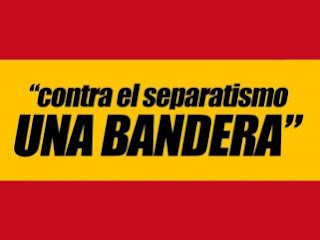 Contra el separatismo, una bandera, España