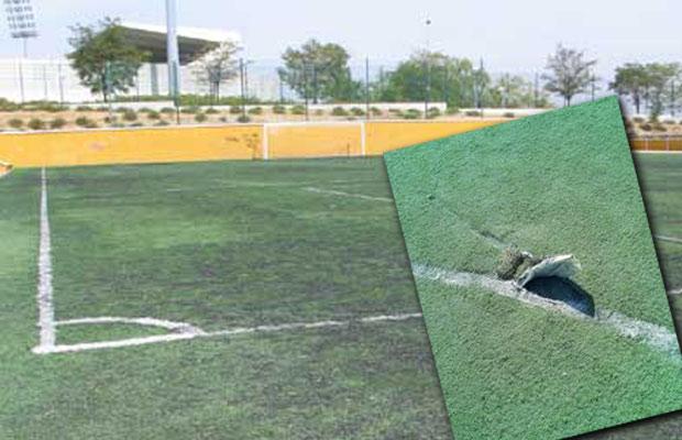 El consejo de administraci n de emsule aprueba la reforma - Suelo hierba artificial ...