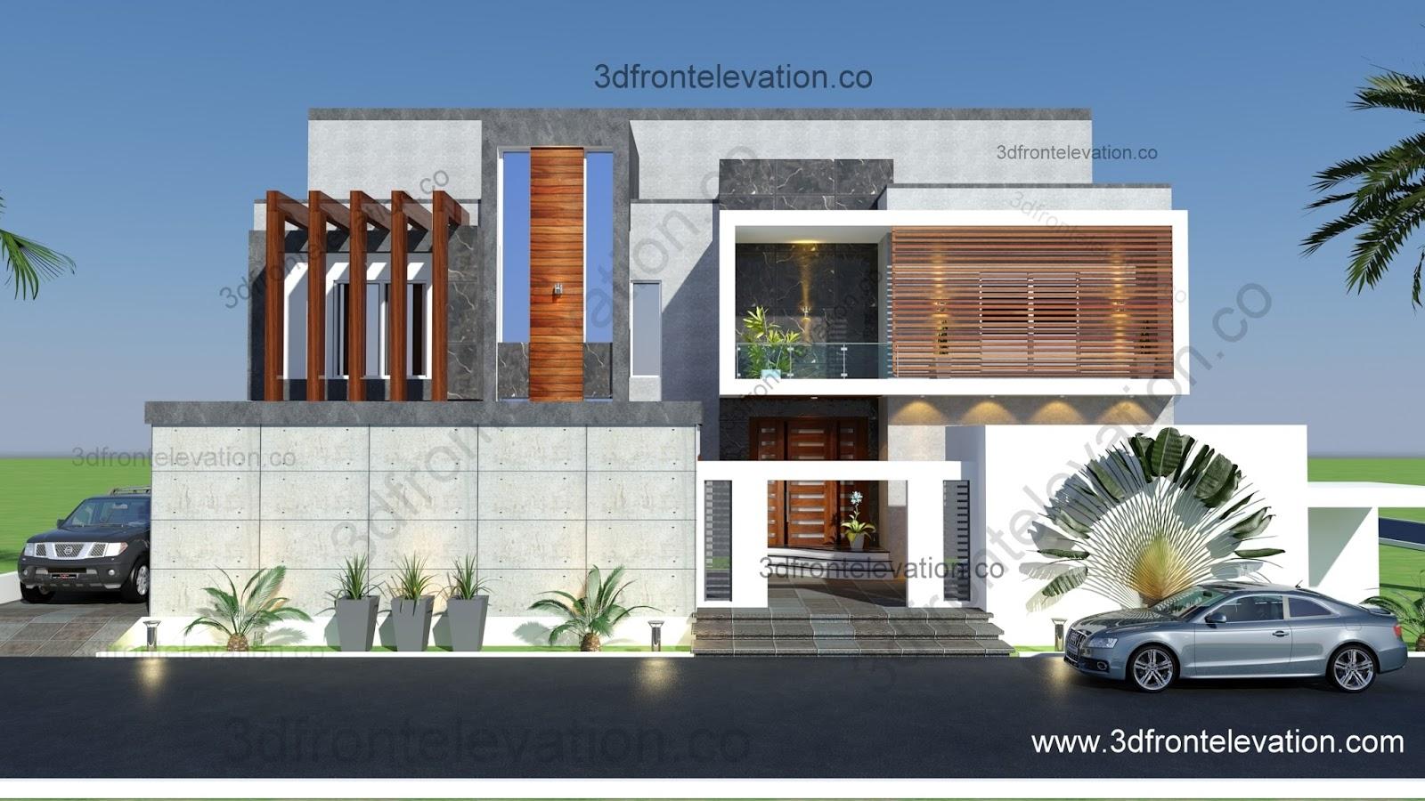 Front Elevation House Dubai : D front elevation saudi oman muscat qatar dubai