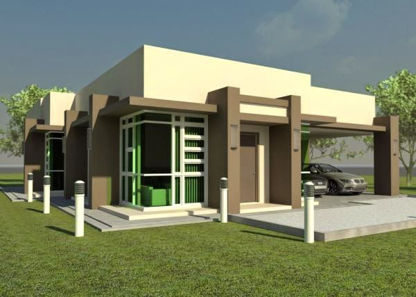 Rumah Minimalis Modern Type 45 yang nyaman