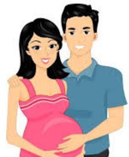 Gmbar DP BBM Ibu Hamil Bahagia Menunggu Kelahiran Buah Hati