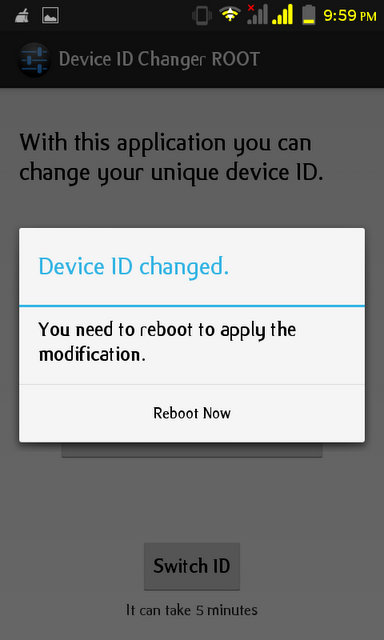 android device id changer