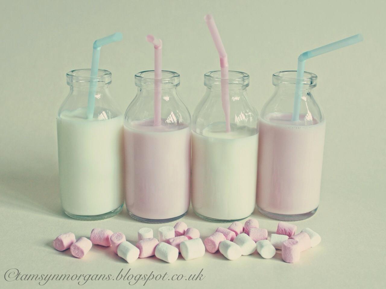 Little milk bottles…