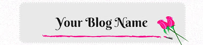 Blog Freebies: Blog Header