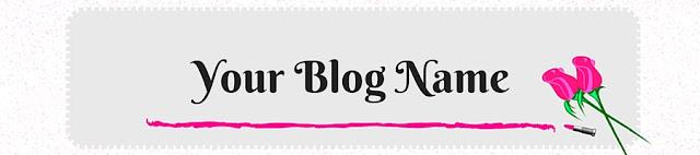 Blog Freebies: Blog Header