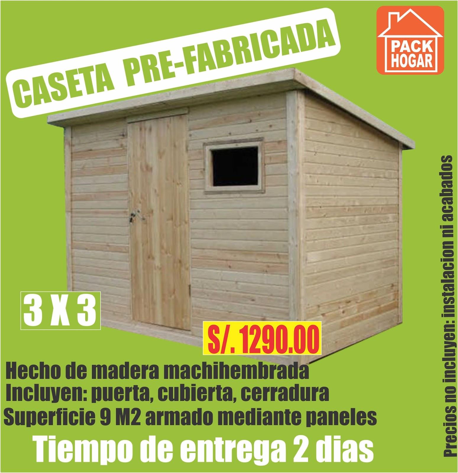 Catalogo de precios casetas m dulos prefabricadas - Catalogo casas prefabricadas ...