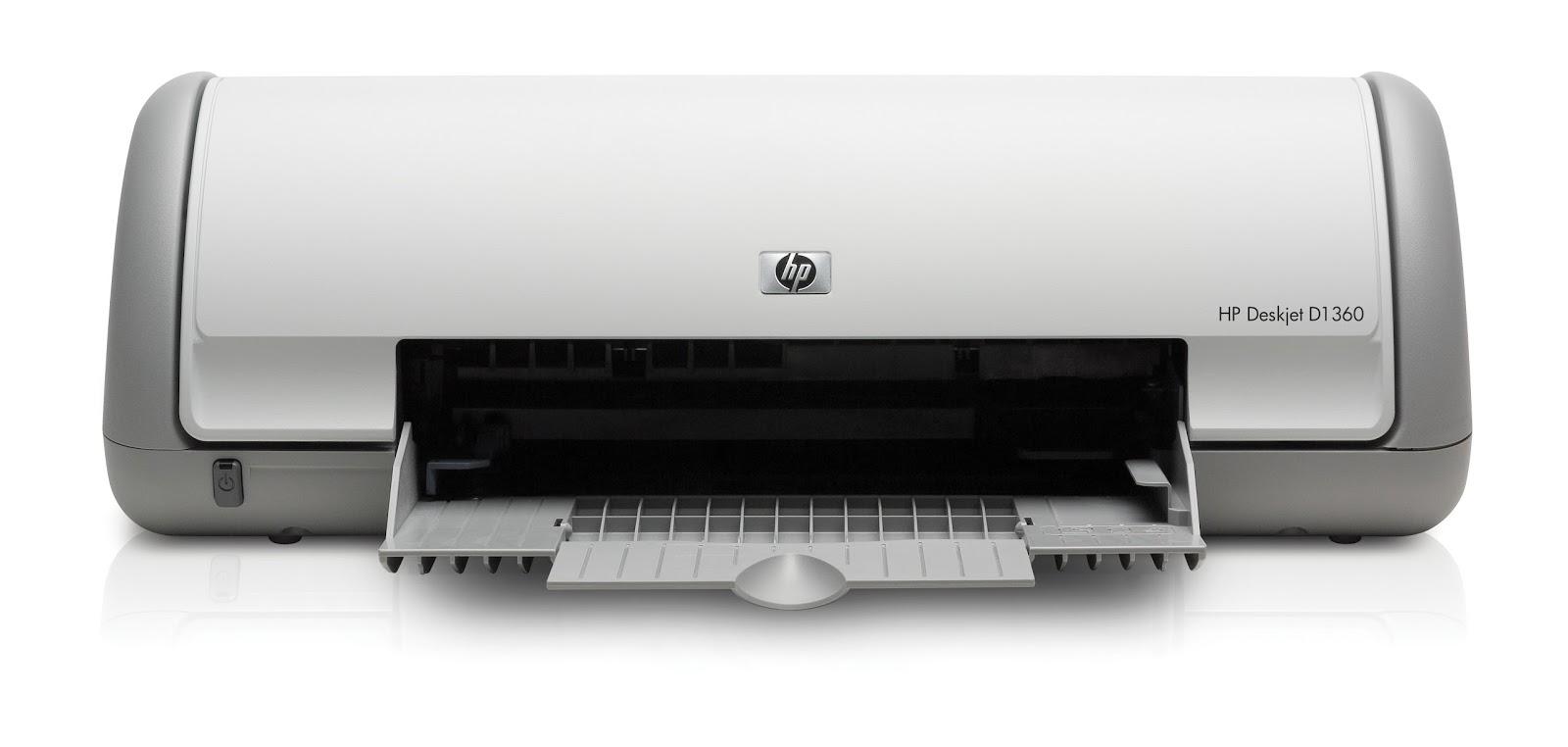 Hp deskjet d1360 printer drivers for windows 10, 8, 7, vista and xp.