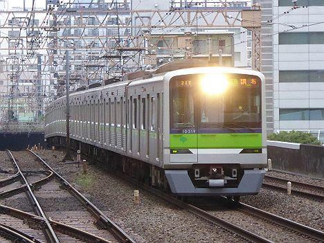 【廃車回送前かつ消滅!】10-300R形310Fの区間急行 調布行き