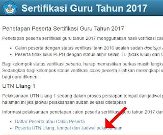 Lokasi PLPG 2017