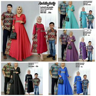 Batik Couple Sarimbit Keluarga Arabella