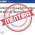 O Globo mente; presidente Bolsonaro não ameaçou veículos da imprensa
