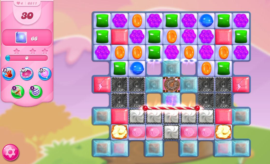 Candy Crush Saga level 6811