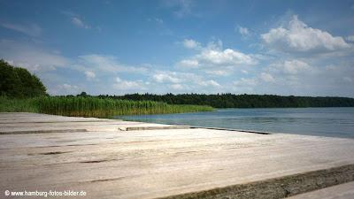 Badestelle in Groß Zecher am Schaalsee