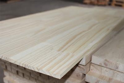 Ván gỗ Thông chất lượng AB