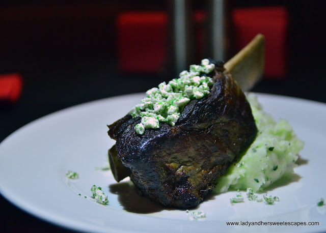 beef short ribs at Espana Lounge Bar Dubai