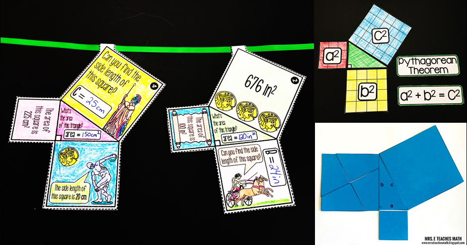 Scaffolded Math And Science Fun Pythagorean Theorem Activities And Teaching Ideas