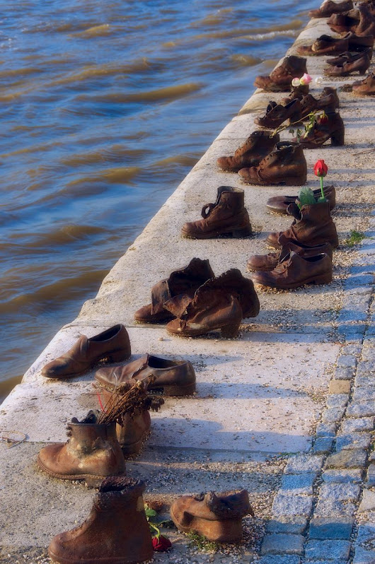 Shoes on The Danube Promenade, Hungary