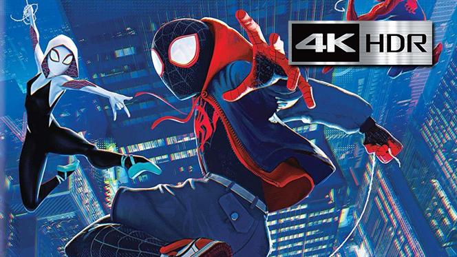 Spider-Man Un nuevo universo (2018) REMUX 4K UHD [HDR] Latino-Ingles