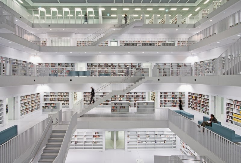 Stuttgart City Library, Germany