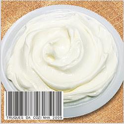 Coalhada seca com iogurte