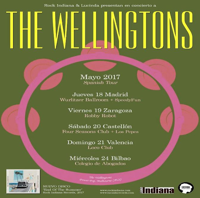 The Wellingtons - 'End of the Summer Tour' 1