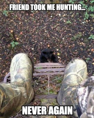 A friend took me hunting