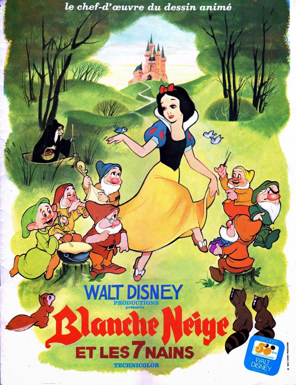 Film Perdu Les Sorties Françaises De Blanche Neige Et Les