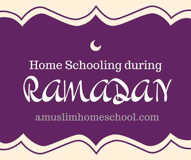 Home schooling during Ramadan