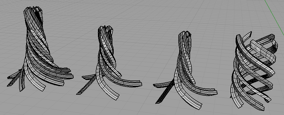 + Super_Surface Fabrication: section along curves