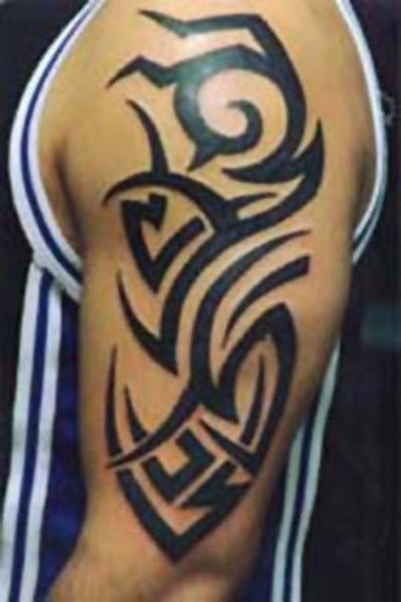 tribal tattoo designs arm 2