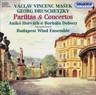 Masek: Partitas / Concertino for Four Hands / Druschetzky: Keyboard Concerto