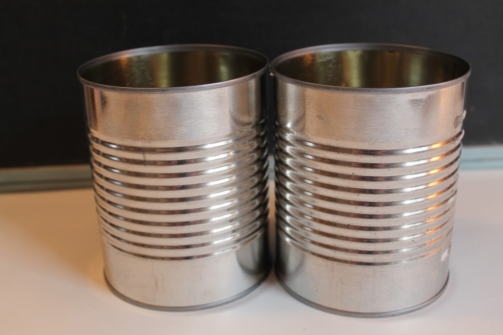 Empty Tin Soup Cans For Craft