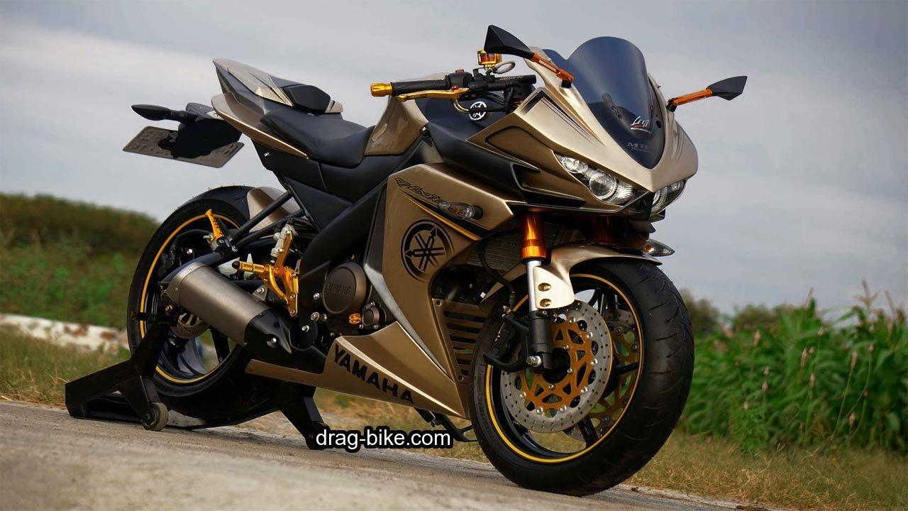 70 Foto Gambar Modifikasi Motor Yamaha Vixion Full Fairing MotoGP