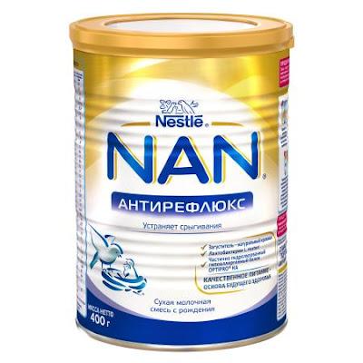 Sữa NAN antireflux chống trào ngược cho bé hộp 400 gr từ 0 tháng tuổi