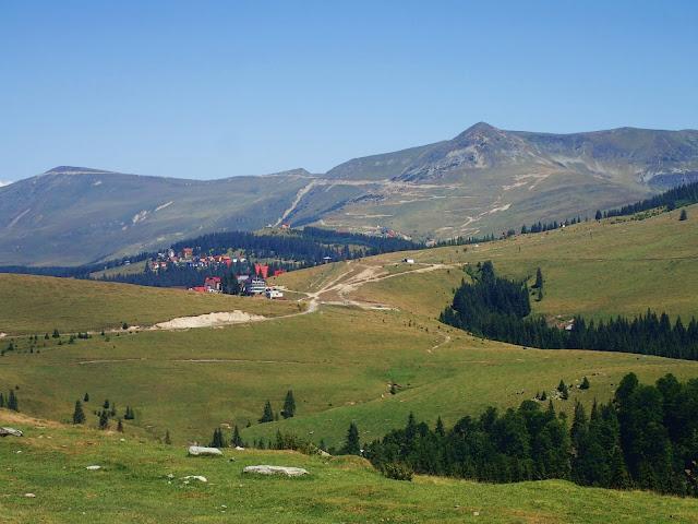 Ranca - miasteczko na Transalpinie, takie rumuńskie Zakopane